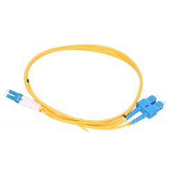 Extralink Patchcord SC/UPC-LC/UPC SM DUPLEX 3.00 MM 5M