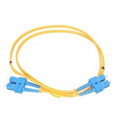 Extralink Patchcord SC/UPC-SC/UPC SM G.652D DUPLEX 5M