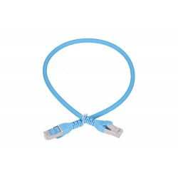 EXTRALINK Cat.6A S/FTP 0.5m LAN Patchcord Copper Twisted Pair, 10Gbps