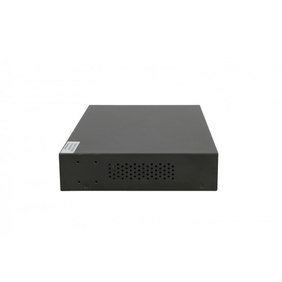 EXTRALINK VICTOR EX-2500G-10MPS FULL GIGABIT MANAGED POE SWITCH 8X 10/100 / 1000M TX with POE AT / AF 48V, 1 CONSOLE PORT, 2X GE SFP, 150W