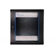 Extralink 12U 600x450 Wall-Mounted Rackmount Cabinet Black