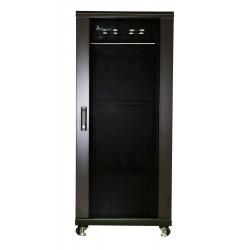 Extralink 27U 600x1000 Standing Rackmount Cabinet Black
