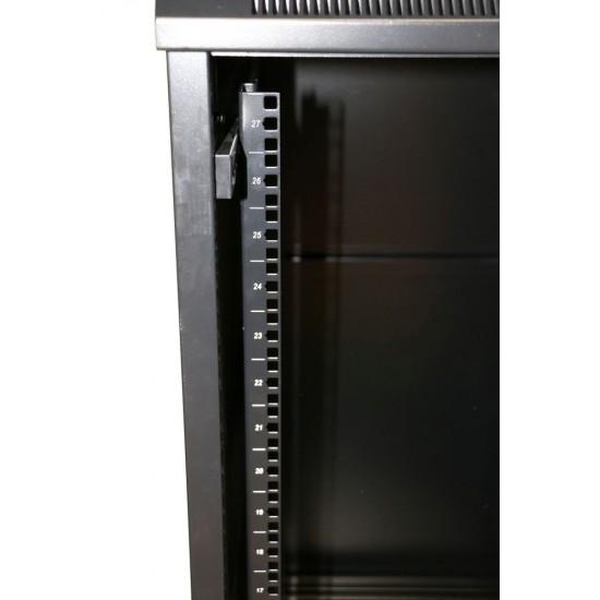 Extralink 32U 600X800 Wall-Mounted Rackmount Cabinet Black