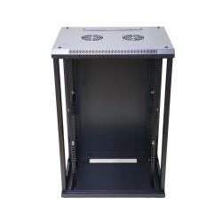 Extralink 15U 600X600 Wall-Mounted Rackmount Cabinet Black