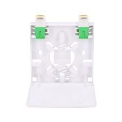 EXTRALINK Agnes Fiber Optic Termination Box 2 Core with Adapter (EL-TERMTB-2CFO-2)
