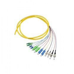 Sopto 24 Cores Fibra Optica Pigtail Lan Patch Cord
