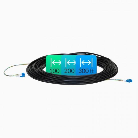 Ubiquiti Fiber Cable, Single Mode, 300ft (FC-SM-300)