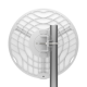 Ubiquiti airMAX GigaBeam Long-Range AC 60/5 GHz Radio (GBE-LR)