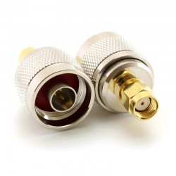 MikroTik Coaxial Adapter N Male / RPSMA Male (CA-NM-RSM)