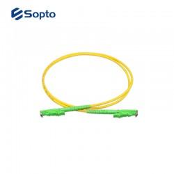 Sopto Patch Cord Duplex 2× LC/UPC 2× LC/UPC G.652D 3.0mm 1M length