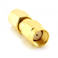 MikroTik Coaxial Adapter RPSMA Male / RPSMA Male (CA-RSM-RSM)