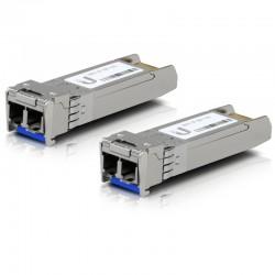 Ubiquiti U Fiber, Single-Mode Module, 10G, 2-Pack (UF-SM-10G)