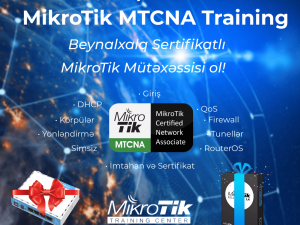 MikroTik MTCNA Training 31-1-2 NOVEMBER in Baku!